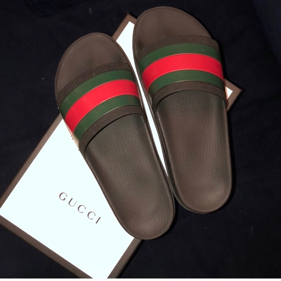 e909bd814 Gucci Shoes | Authentic Mens Slippers Slides Size 11 | Poshmark
